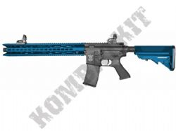GE-1606 BB Gun SR4 ST Mamba P2 M4A1 Keymod AEG Electric Airsoft Rifle 2 Tone Blue Black